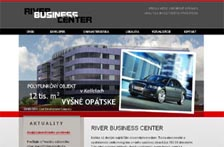 River Business Center / web vizualizácia
